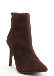 Charles David dark brown suede 'Dubio' ankle boots