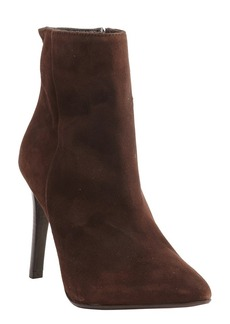 Charles David dark brown suede 'Dubio' stiletto ankle boots