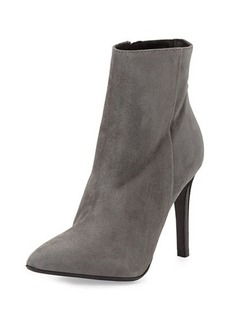 Charles David Dubio Pointy Suede Bootie, Gray