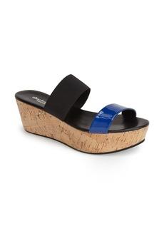 Charles David 'Flora' Wedge Slide Sandal (Women)