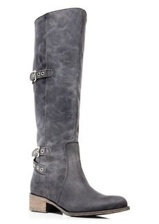 Charles David Genoa Grommet High Shaft Boots
