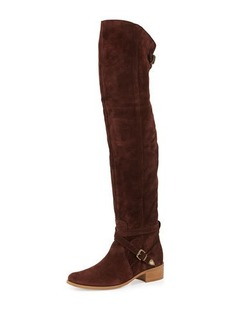 Charles David Gianna Suede Over-the-Knee Boot