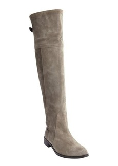 Charles David grey suede knee high zip detail 'Rodem' boots