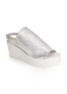 Charles David 'Hannah' Leather Wedge Sandal (Women)