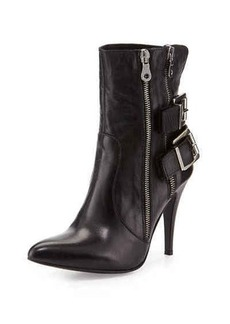 Charles David Kathy Buckle High-Heel Bootie