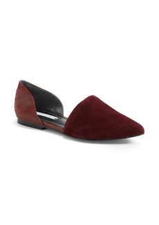 Charles David 'Kenny' Pointy Toe d'Orsay Flat (Women) (Online Only)
