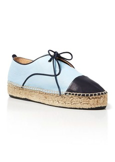 Charles David Lace Up Espadrille Flats - Harper