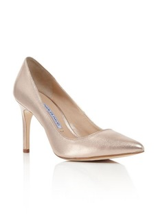Charles David Metallic Donnie Pointed Pumps