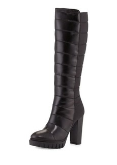 Charles David Mounia Chunky-Heel Knee Boot
