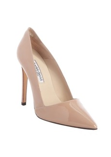 Charles David nude patent leather 'Passion' pumps