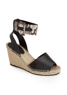 Charles David 'Ofilia' Ankle Strap Espadrille Wedge (Women)