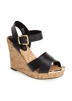 Charles David 'Oliver' Cork Platform Wedge Sandal (Women)