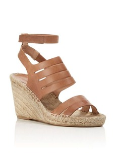 Charles David Ona Ankle Strap Espadrille Wedge Sandals