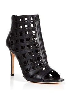 Charles David Open Toe Sandals - Iva Windowpane High Heel