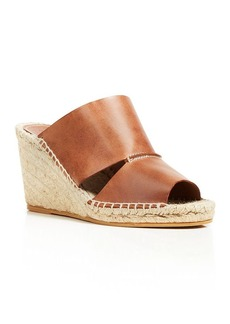 Charles David Open Toe Slide Wedge Sandals - Owen