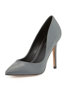 Charles David Pact Pointed-Toe Pump, Dark Grey
