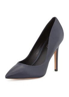 Charles David Pact Pointed-Toe Pump, Navy