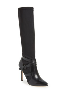 Charles David 'Pennie' Knee High Pointy Toe Boot (Women)