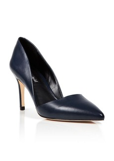 Charles David Pointed Toe Pumps - Lulu D'Orsay