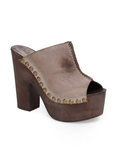 Charles David 'Sacche' Leather Clog (Women)