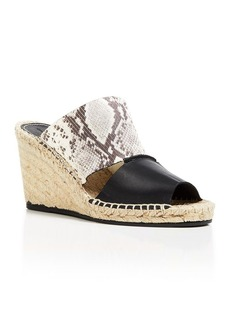 Charles David Slide Wedge Sandals - Owen
