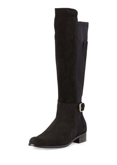 Charles David Suede & Jersey Knee-High Boot