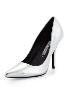 Charles David Sway II Metallic Pointed-Toe Pump