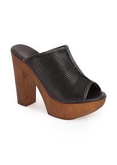 Charles David 'Tam' Peep Toe Platform Slide Sandal (Women)