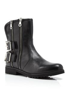 Charles David Val Zip Moto Boots