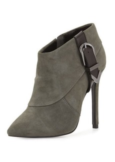Charles David Valle Suede High-Heel Bootie