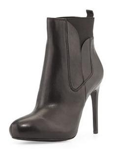 Charles David Yadira Leather Platform Bootie, Black