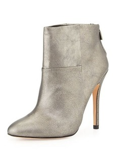 Charles David Zen Metallic Classic Ankle Boot, Pewter
