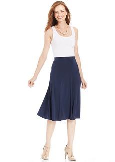 Charter Club A-Line Jersey Skirt