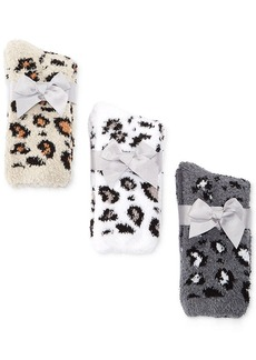 Charter Club Animal Print Butter Socks