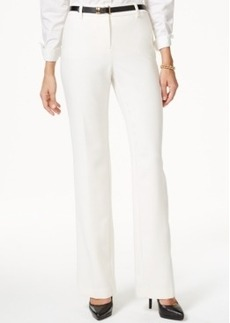 Charter Club Belted Trousers, Only at Macy's