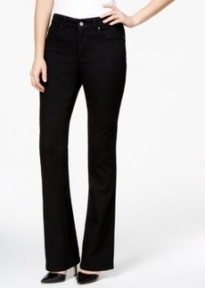 Charter Club Boot-Cut Jeans, Black Wash
