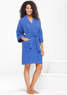 Charter Club Brights Woven Waffle Robe