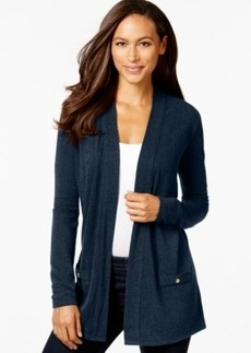 Charter Club Button-Back Cardigan