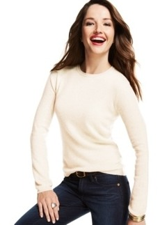 Charter Club Cashmere Crew-Neck Sweater, Only at Macy's