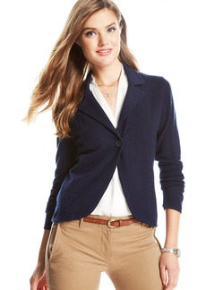 Charter Club Cashmere Sweater Blazer