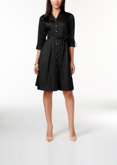 Charter Club Classic Belted Shirt Dress, Only at Macy's