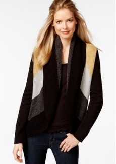 Charter Club Colorblocked Circle Cardigan, Only at Macy's