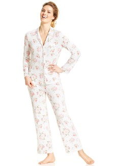 Charter Club Cool Sleep Long Sleeve Top and Pajama Pants Set