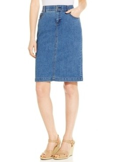 Charter Club Denim 5-Pocket Pencil Skirt