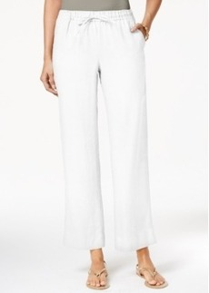 Charter Club Drawstring-Waist Pull-On Pants, Only at Macy's