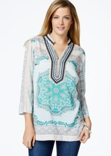 Charter Club Embellished Tunic, Only at Macy's