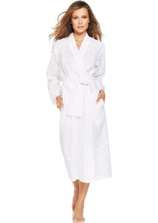 Charter Club Embroidered Woven Long Robe