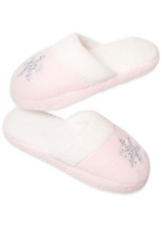 Charter Club Flannel Slippers