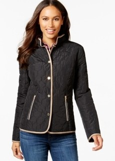 Charter Club Hexagon Quilted Jacket, Only at Macy's