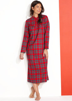 Charter Club Holiday Lane Flannel Gown